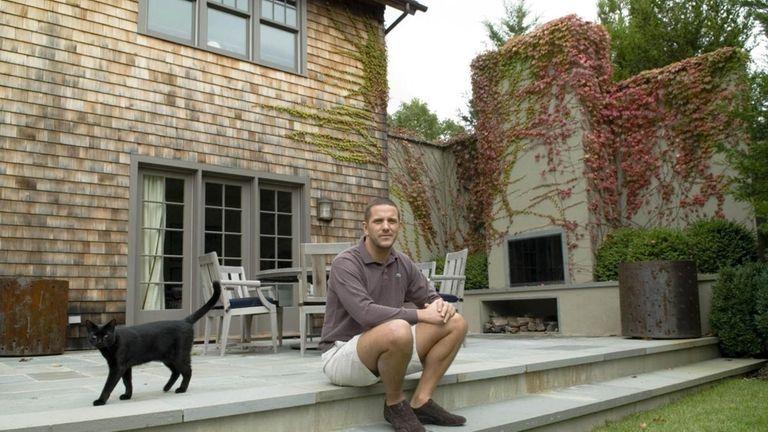 Interior designer Robert Stilin at his home on