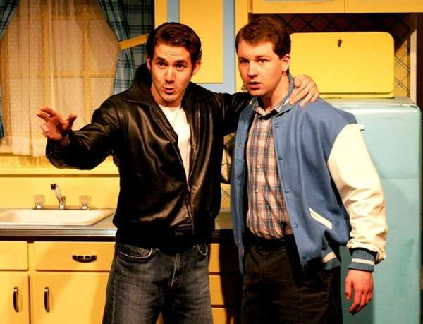 Eli Zoller as Fonzie and Andrew Pandaleon as