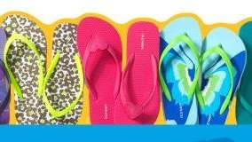Old Navy is planning a Saturday flip-flop sale.