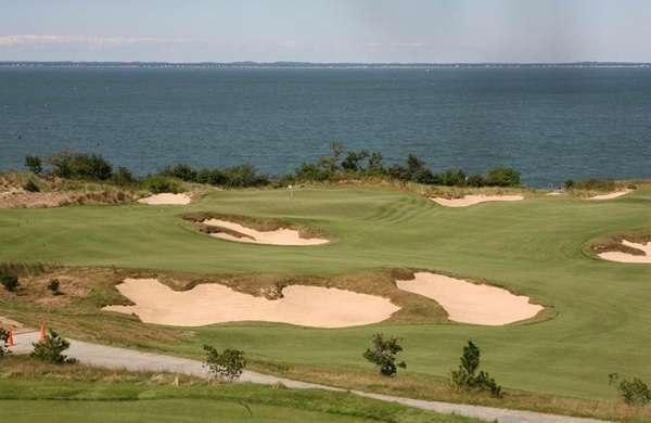 Sebonack Golf Club in Southampton, site of the