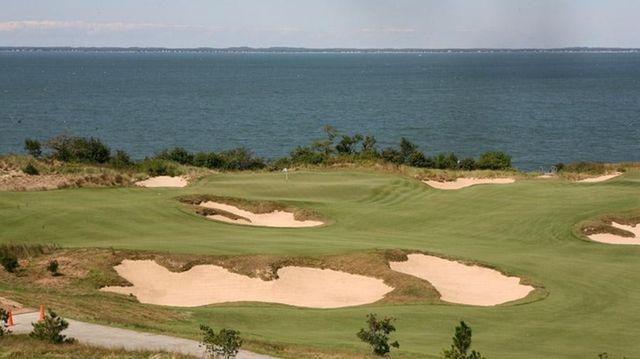 Sebonack Golf Club in Southampton, site of the