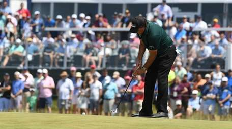 Phil Mickelson made one of the most shocking