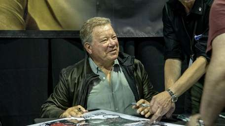 William Shatner signs autographs at Eternal Con in