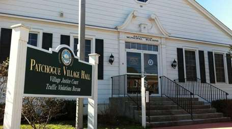 Patchogue Village Hall on Baker Street in Patchogue