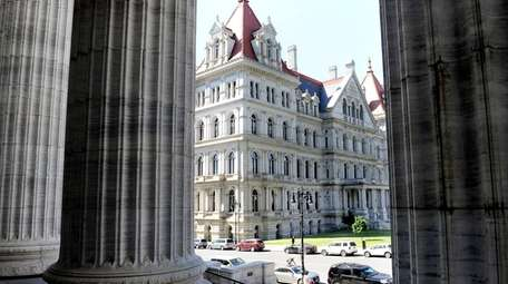 The Senate in Albany is in a 31-31