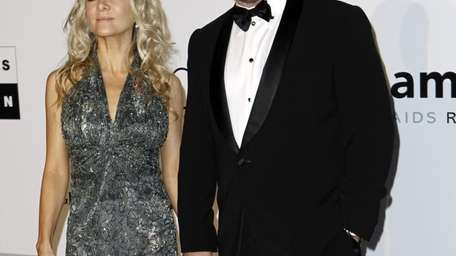 Actor Russell Crowe and wife Danielle Spencer arrive