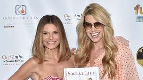 TV personality Maria Menounos and Beth Ostrosky Stern