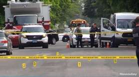 One man was shot to death and another