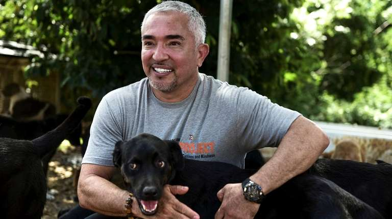 "Cesar Millan, aka ""the Dog Whisperer,"" comes to"