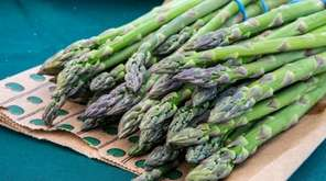 Asparagus from Wickham's Fruit Farm at Northport Farmers