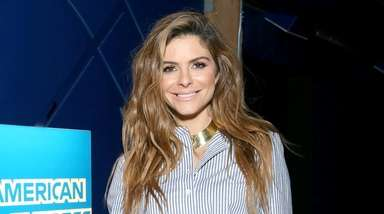 Maria Menounos at NBA All-Star Weekend in