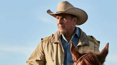 """Kevin Costner stars in """"Yellowstone"""" on the Paramount"""