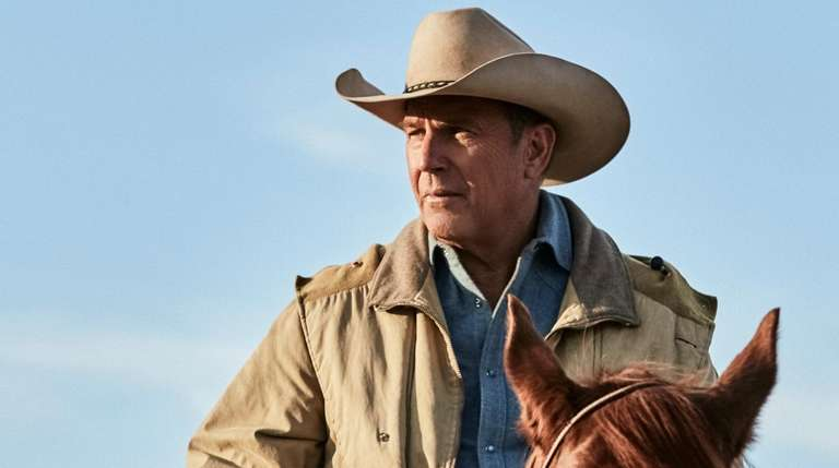 "Kevin Costner stars in ""Yellowstone"" on the Paramount"