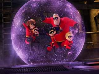 """Disney/Pixar issued a warning that """"Incredibles 2"""" contains"""