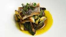 Black sea bass is among the new items
