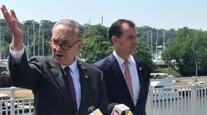Sen. Chuck Schumer (D-NY) on Monday called on