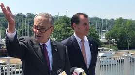 Sen. Chuck Schumer (D-N.Y.) on Monday called on