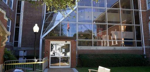 Huntington town hall in Huntington is shownSept. 2,
