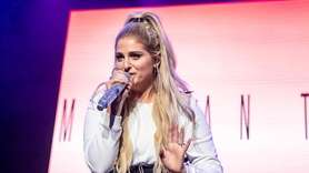Meghan Trainor at the BLI Summer Jam on