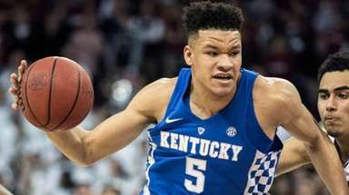 Kentucky forward Kevin Knox against South Carolina on