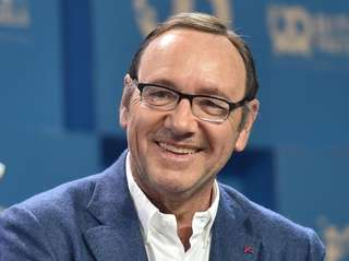 Kevin Spacey at the Bits & Pretzels Founders