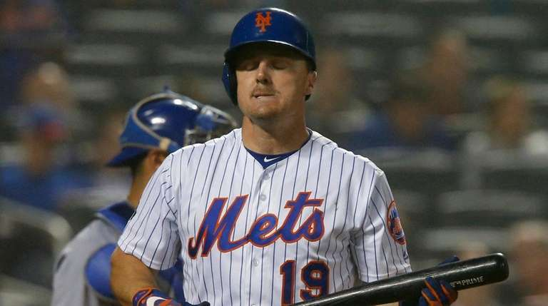 Jay Bruce has been bothered by a sore