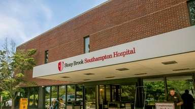 Stony Brook Southampton Hospital on Aug. 21, 2017.