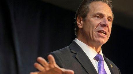 Gov. Andrew M. Cuomo, shown in October, took