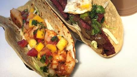 Tacos are on tap at Mattitaco, which opened