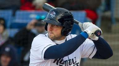 Tim Tebow is hitting .239 with 4 homers,