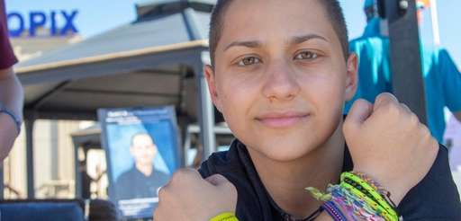 Parkland shooting survivor Emma Gonzalez attends a charity