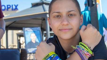 Parkland shooting survivor Emma Gonzalez attends a charity