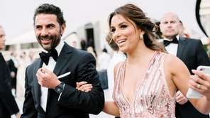 Eva Longoria and her husband José Bastón