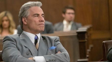 "John Travolta in a scene from ""Gotti."""
