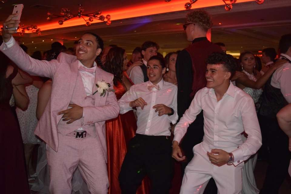 Comsewogue High School held its prom at Watermill