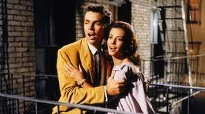Richard Beymer and Natalie Wood star in the