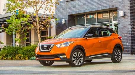 The 2018 Nissan Kicks blends sophistication and sportiness