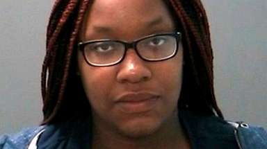 Lashae Hammond, 28, of North Babylon was charged