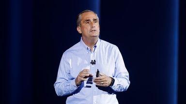 Intel CEO Brian Krzanich, shown in Las Vegas