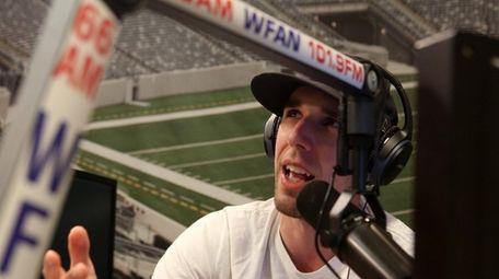 John Jastremski hosts his WFAN overnight show,