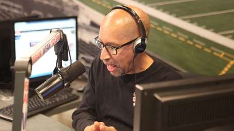Tony Paige hosts his WFAN overnight show at