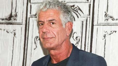 Anthony Bourdain participates in the BUILD Speaker Series