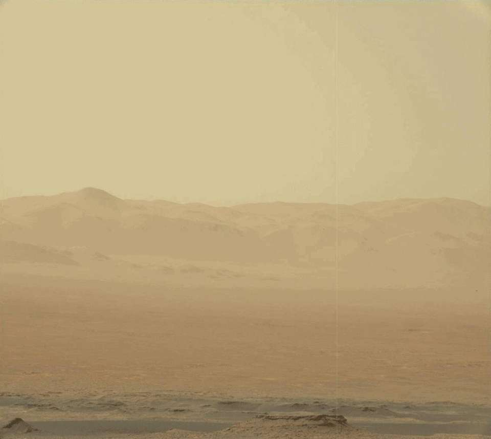 NASA's Curiosity Rover captured intensifying haziness on the