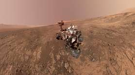 A self-portrait of NASA's Curiosity Mars rover on