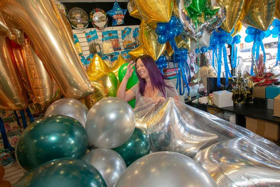 Christine Masi, owner of Sky High balloons in