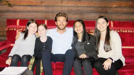 Actor Scott Eastwood, who is starring in