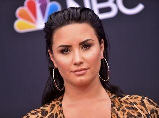 Demi Lovato at the the 2018 Billboard
