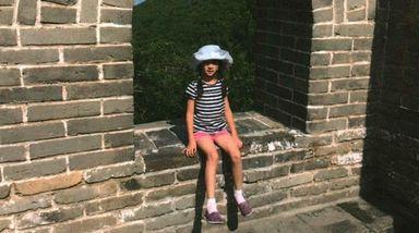 Kidsday reporter Sara Li on the Great Wall
