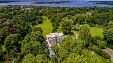The Oyster Bay Cove estate, which is still