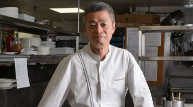 Tomo Kobayashi, executive chef at My Father's Place